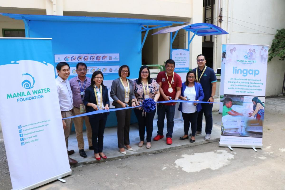 Manila Water Foundation's Hygiene Facility at SINHS