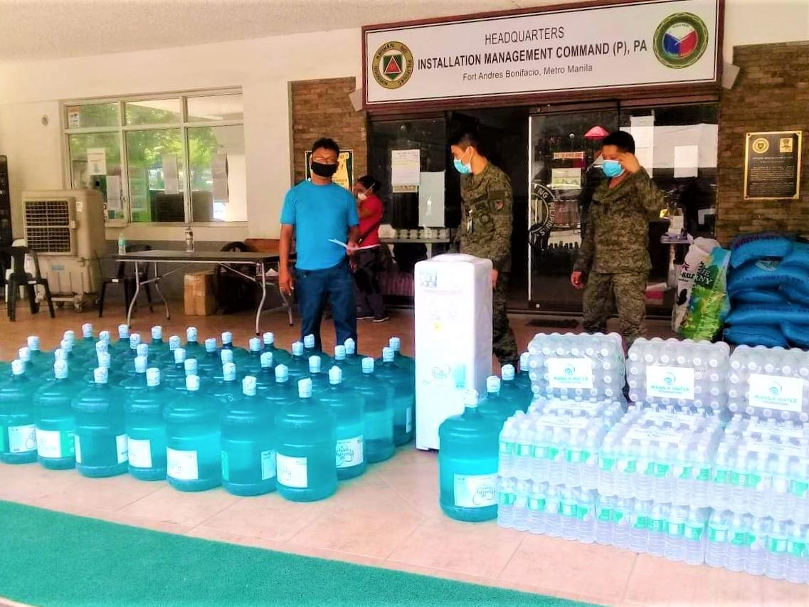 Manila Water Foundation deployed drinking water for LSIs in Taguig City