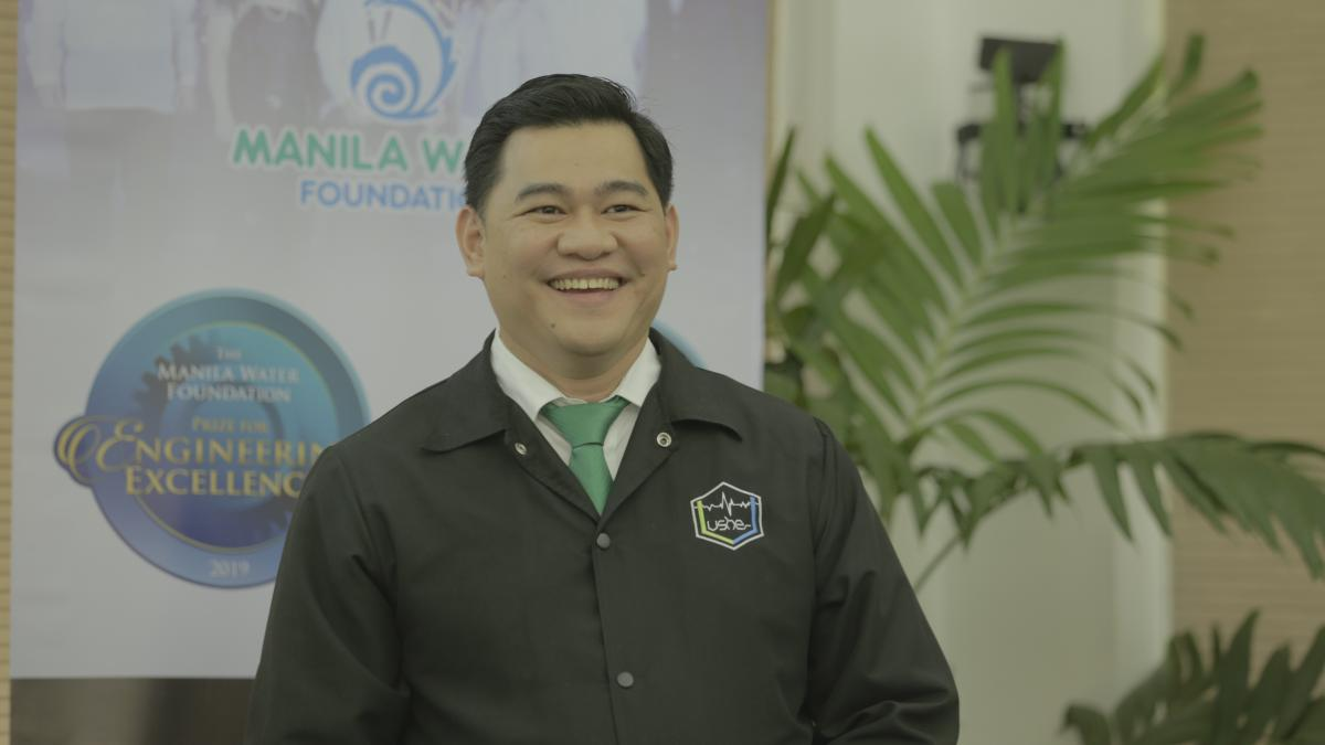 Dr. Francis Aldrine Uy, finalist of the 2019 MWF Prize for Engineering Excellence