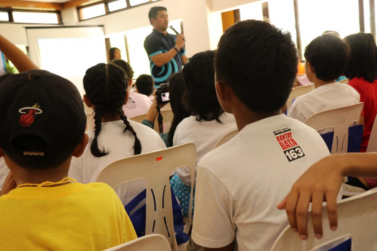 Manila Water Foundation collaborates with ABS-CBN Foundation to bring hygiene facilities to the Children's Village