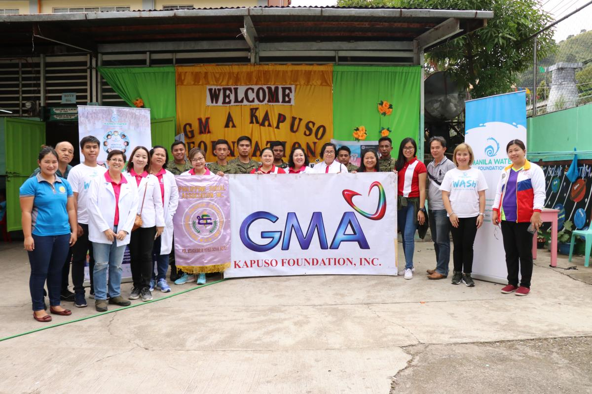 Manila Water Foundation's Health in Our Hands in Bontoc, Mountain Province