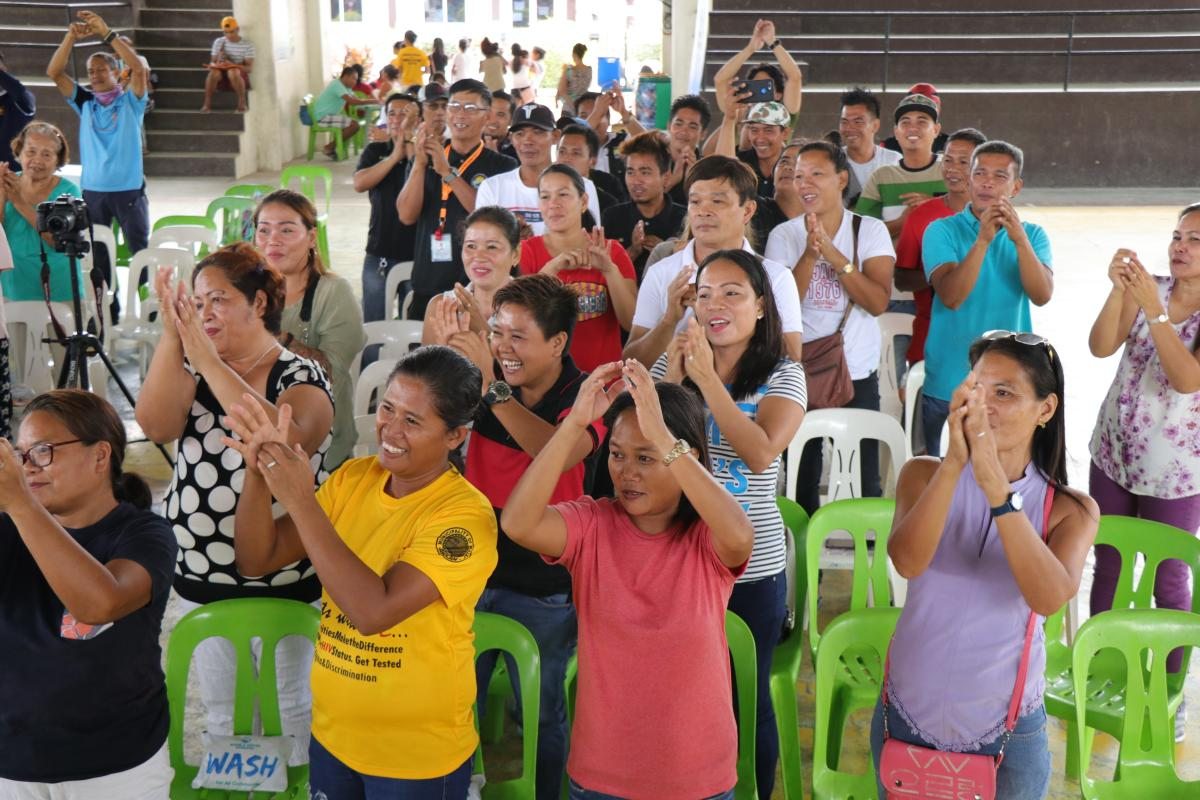 Hygiene Education Session in Boracay