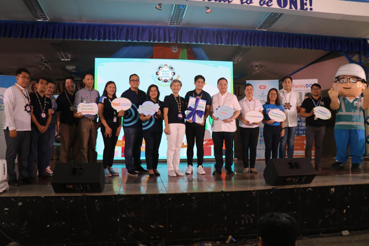Manila Water Foundation celebrates Global Handwashing Day