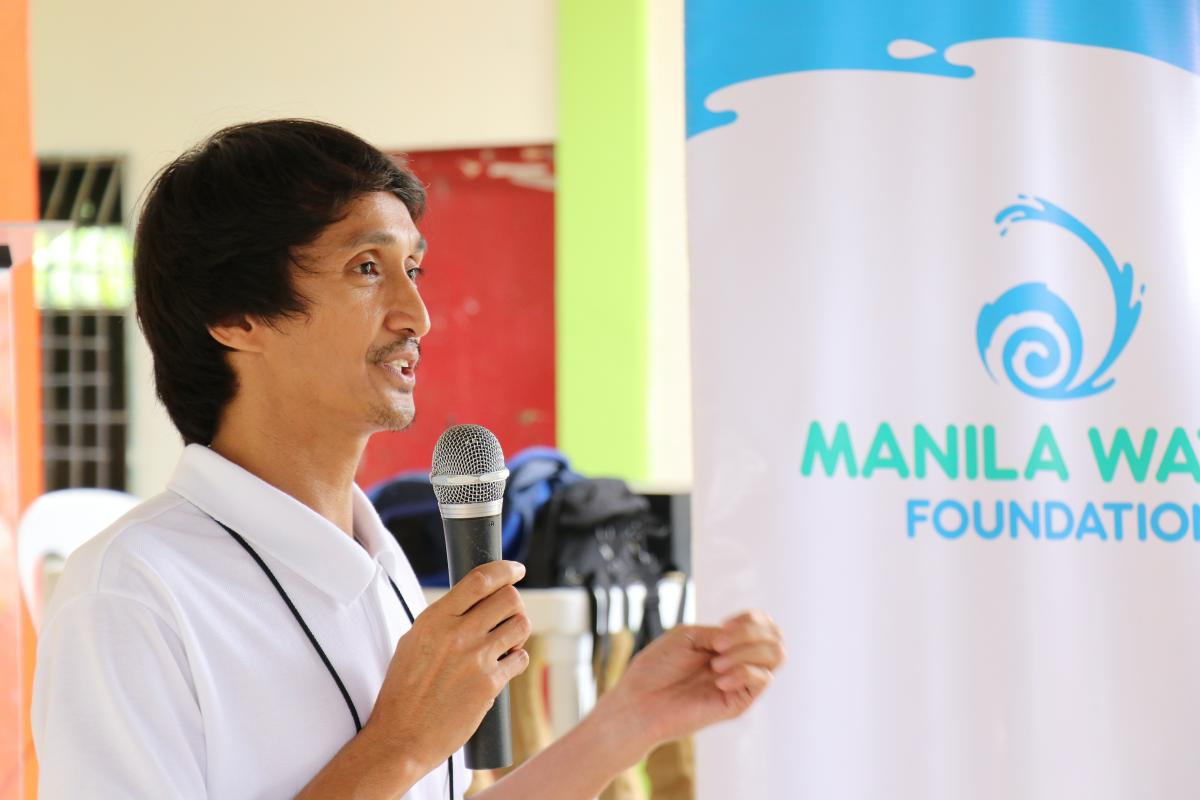 Laguna Water during Manila Water Foundation's Health in Our Hands session WASH