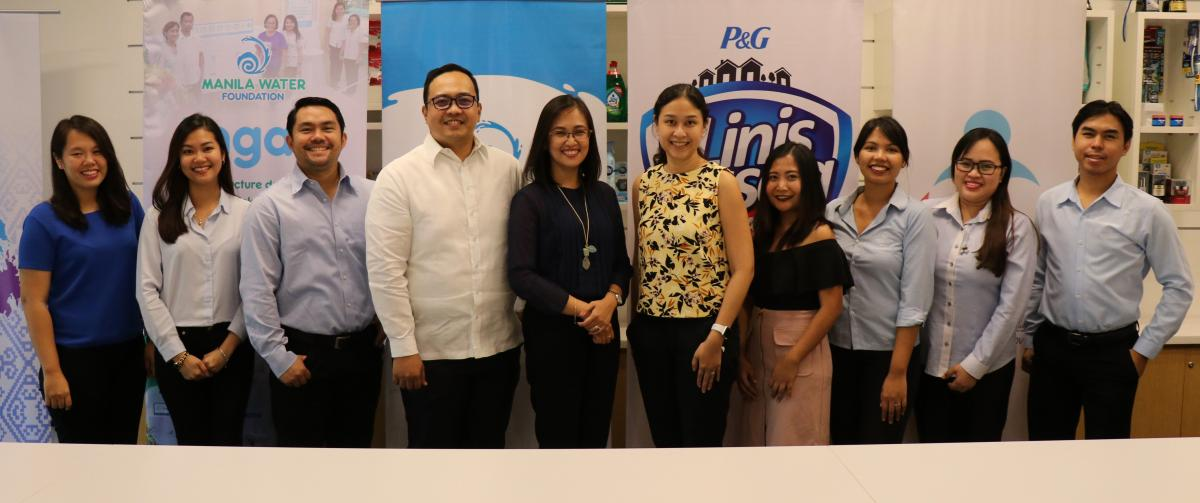 Manila Water Foundation sign MOA with Procter & Gamble Philippines