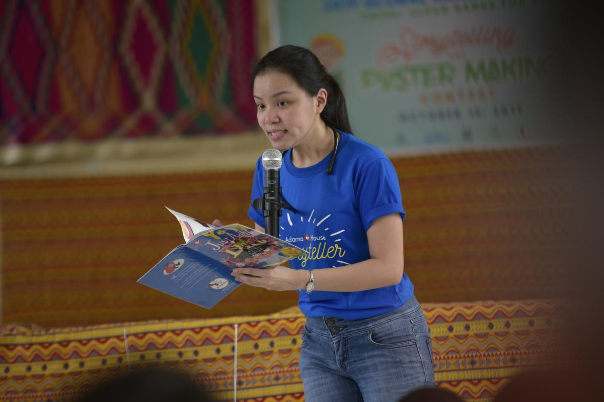 Adarna House at Manila Water Foundation's 2019 Global Handwashing Day celebration