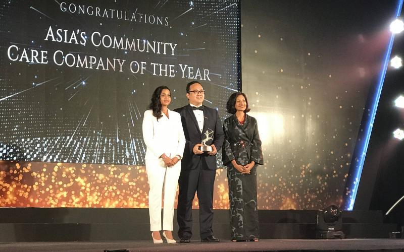 Manila Water Foundation bags the Asia's Community Care Company of the Year at the 2019 ACES Awards