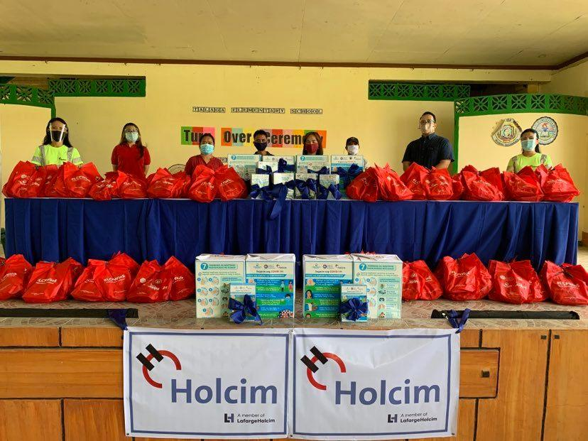 WASH in Pandemic: Holcim Philippines, Manila Water Foundation support WASH in Schools